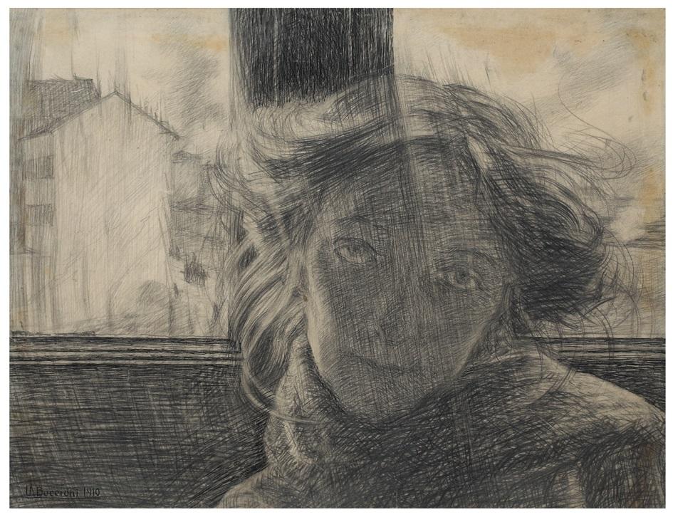 occioni Controluce 1910 matita su carta mm 360x490 Galleria Russo, Roma