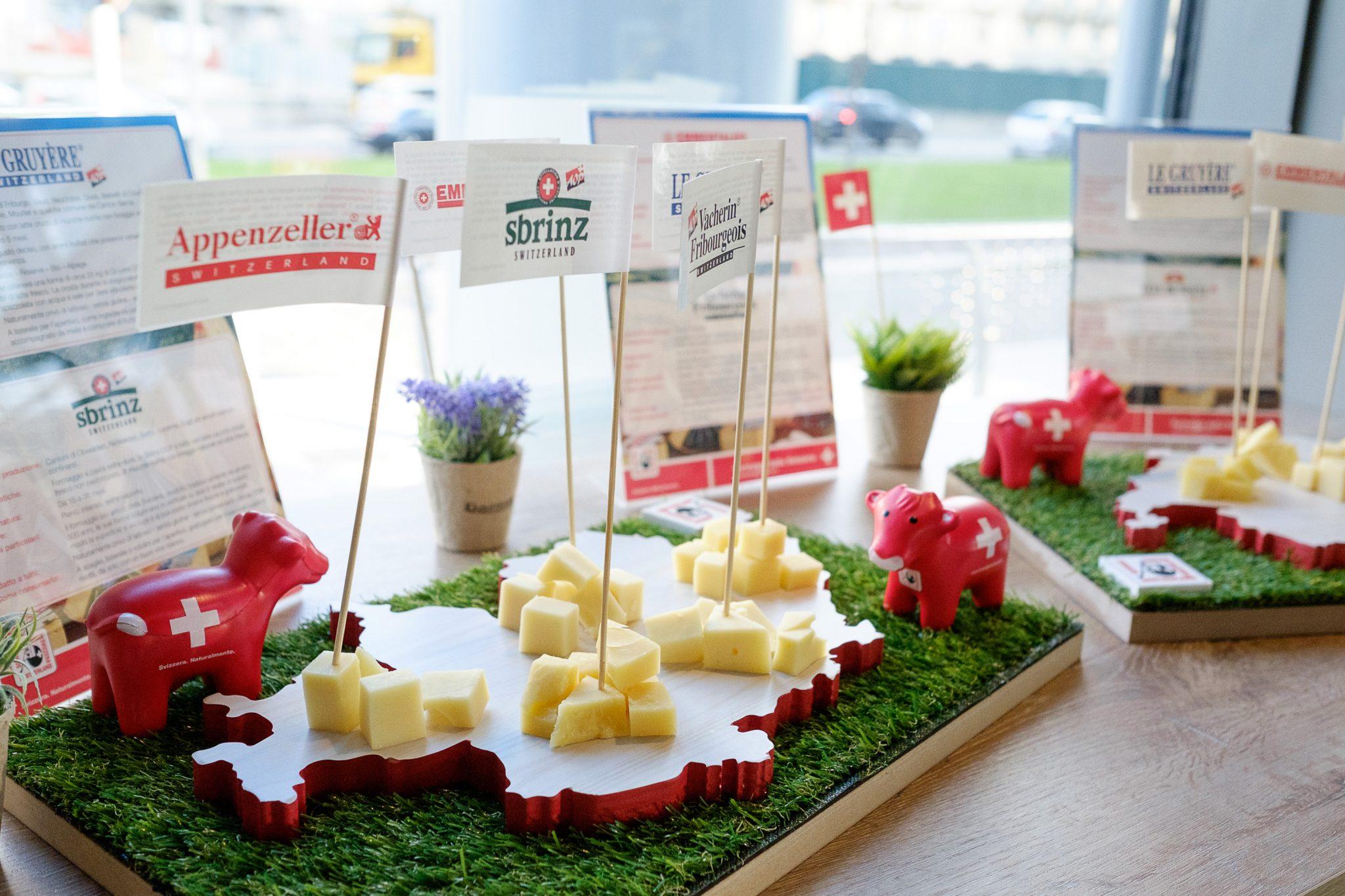 #Cheesiamo, l'aperitivo milanese dai sapori svizzeri