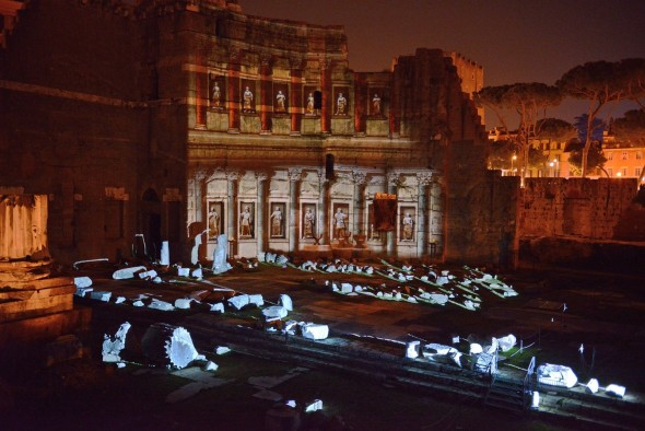 Viaggio nell'Antica Roma - Foro di Augusto . Foto di Andrea Franceschini