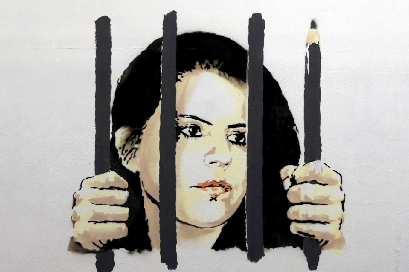 Banksy contro la censura turca. A New York, il murales per l'artista incarcerata da Erdogan