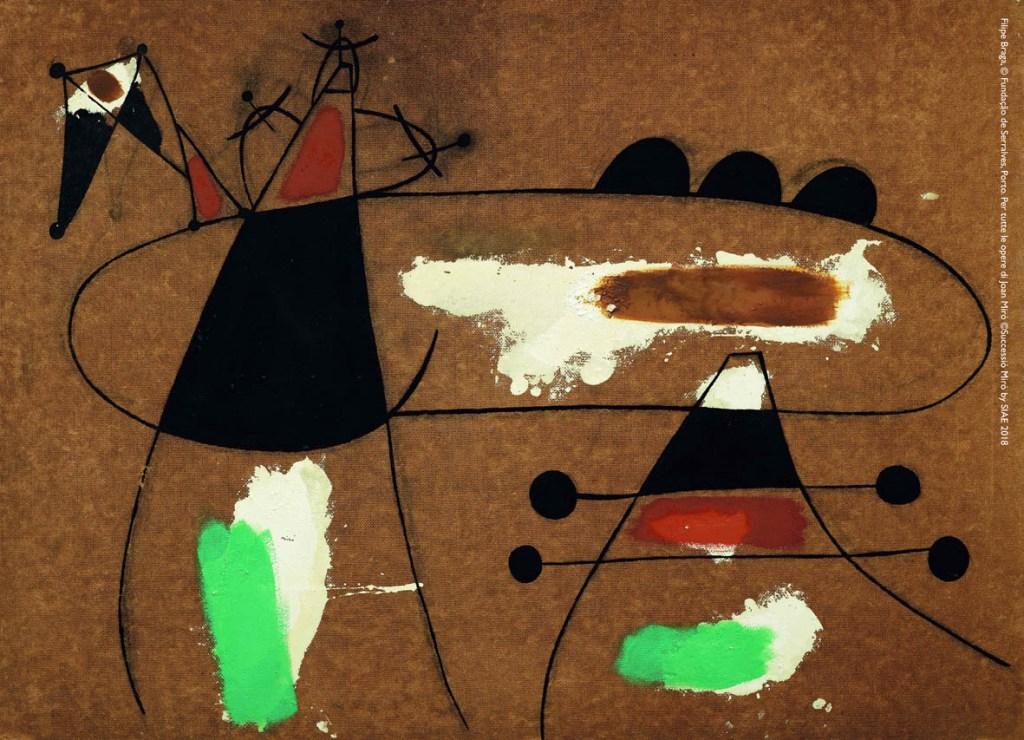 Materialità e metamorfosi. La poetica pittorica di Joan Miró in 85 capolavori, a Padova