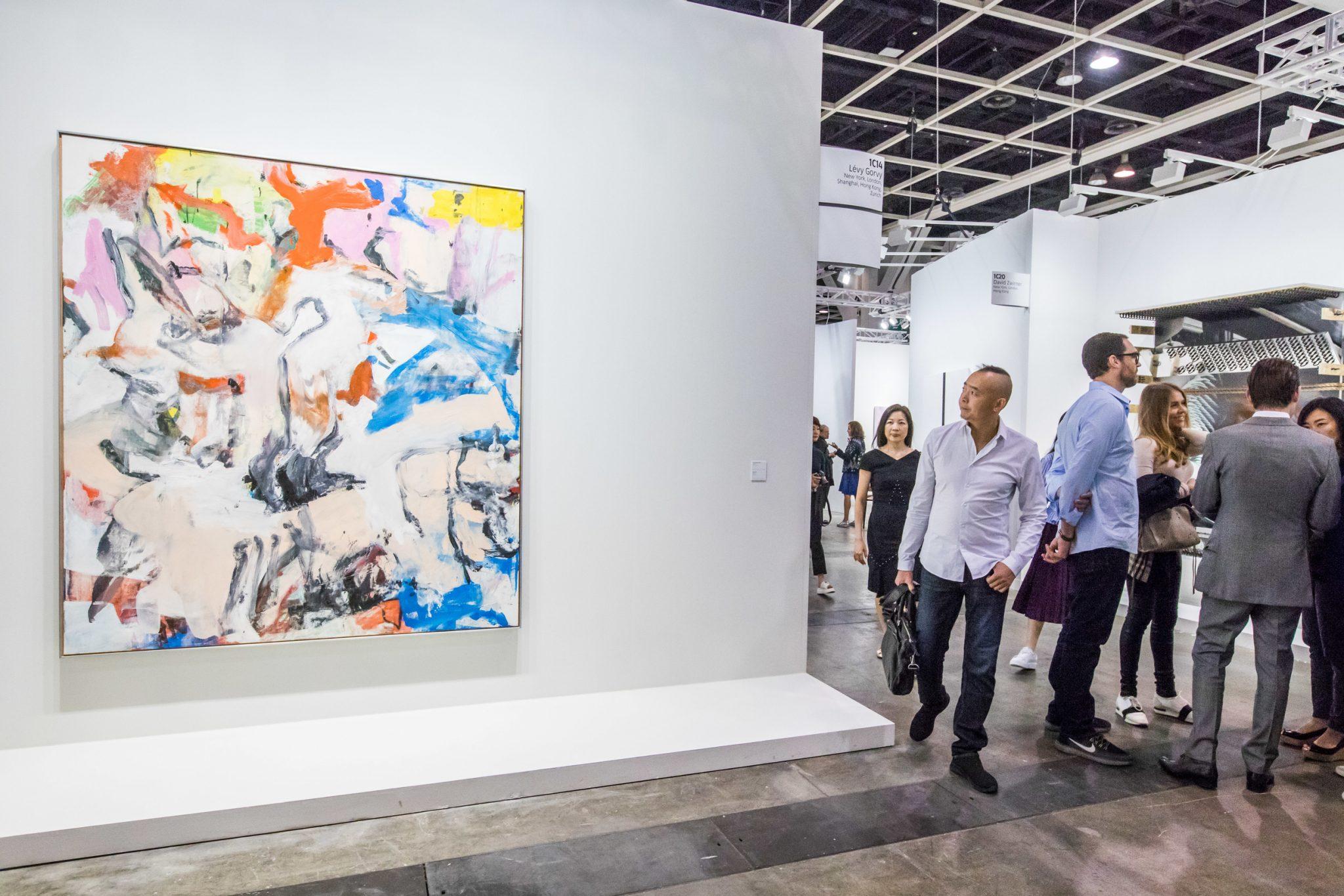 Il de Kooning da 35 milioni venduto in meno di due ore ad Art Basel Hong Kong