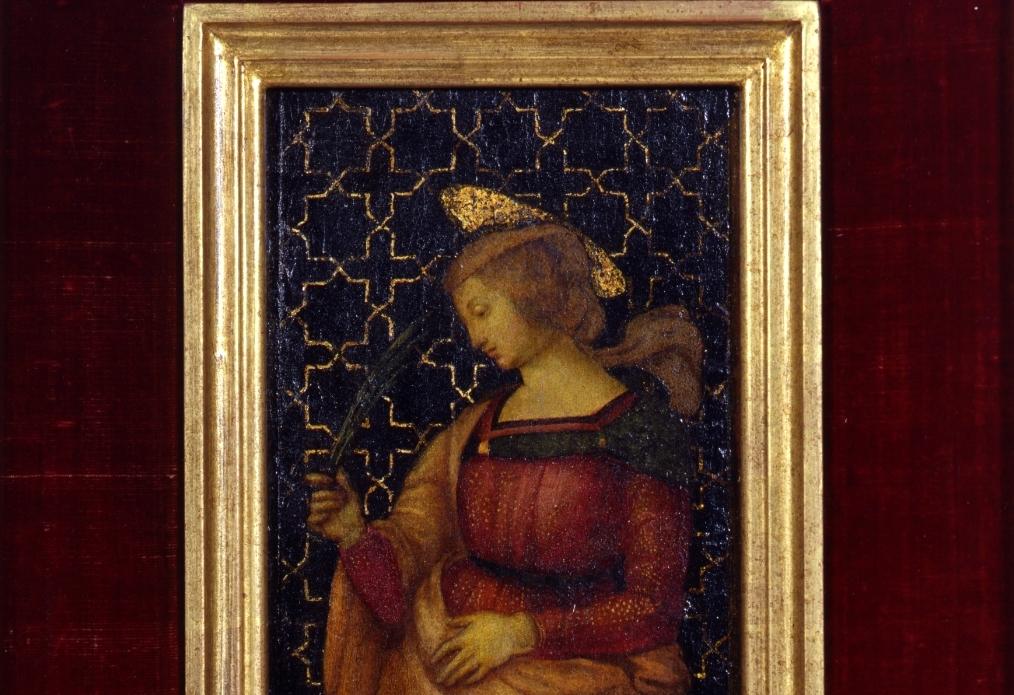 Raffaello, Santa Caterina d'Alessandria (particolare)