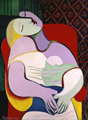 Pablo Picasso Le Rêve (The Dream) 1932
