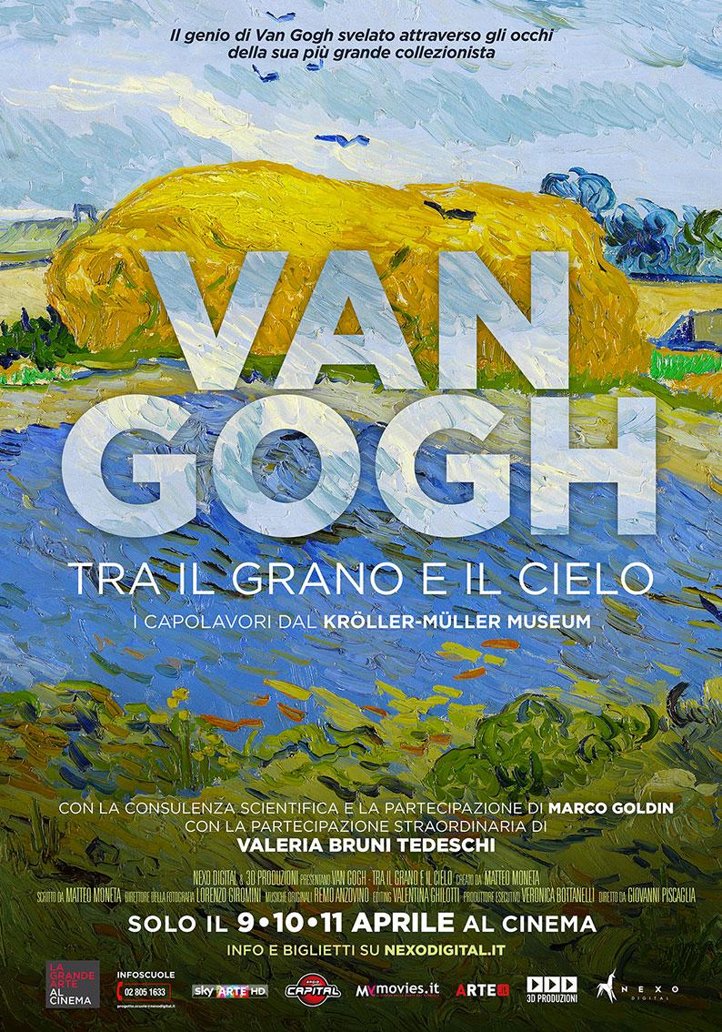 """Arriva al cinema """"Van Gogh. Tra il grano e il cielo"""". La recensione"""