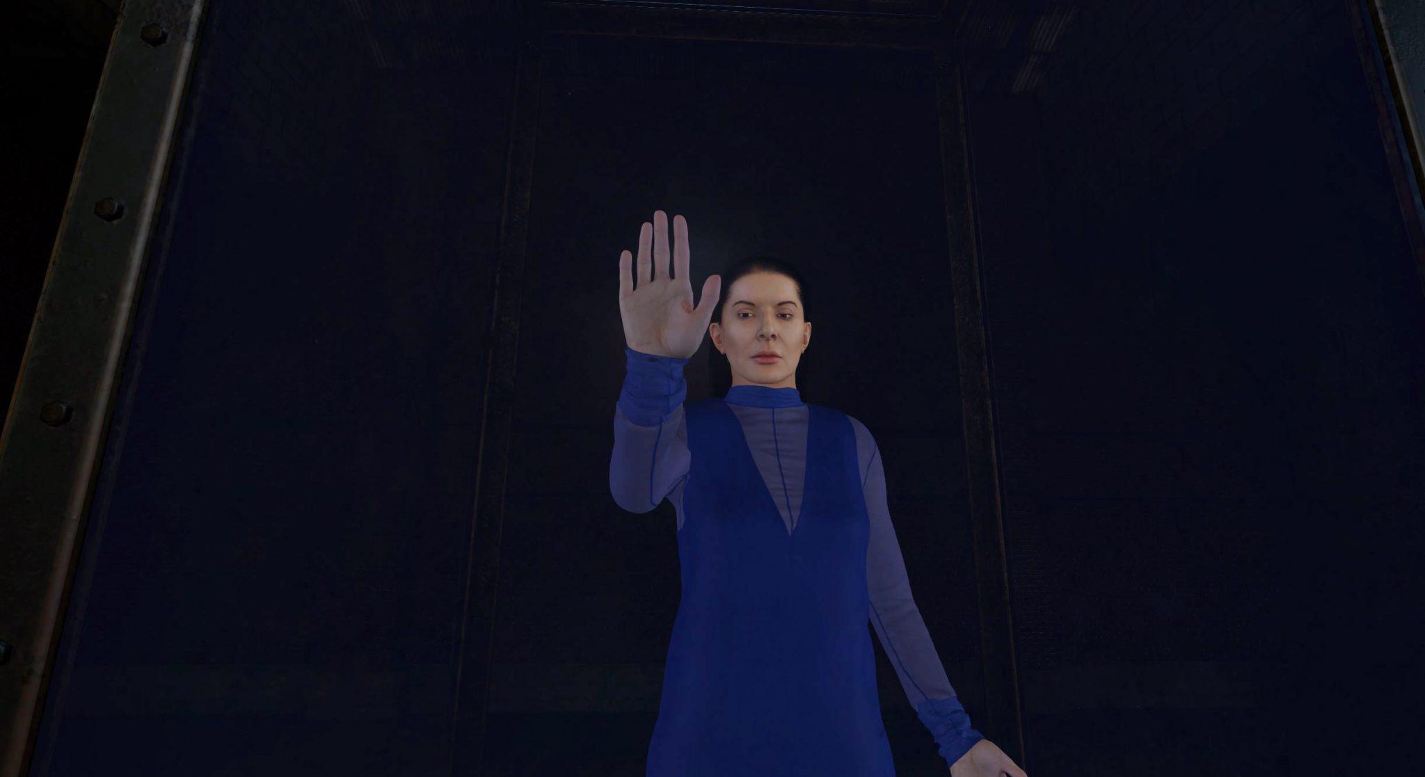 L'avatar di Marina Abramovič e il viaggio introspettivo virtuale di Anish Kapoor ad Art Basel Hong Kong 2018. Link del video trailer