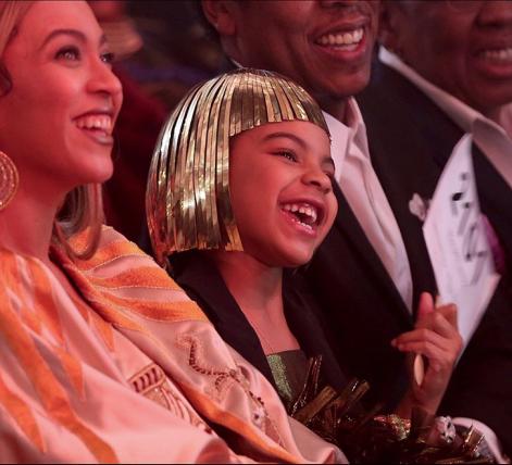 La piccola Blue Ivy Carter è una collezionista d'arte. La migliore offerta alla figlia di Jay-Z e Beyoncé