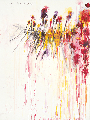 Coronation of Sesostris. L'opera epica di Cy Twombly da Gagosian a New York