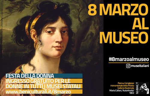 Otto marzo al Museo - cover Mibact