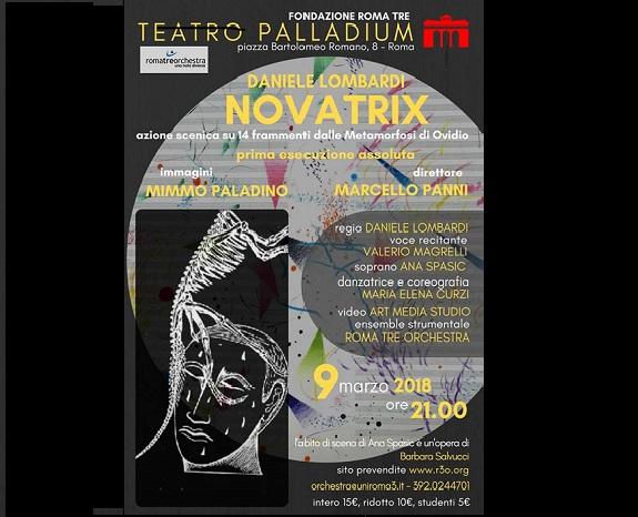 locandina spettacolo Novatrix