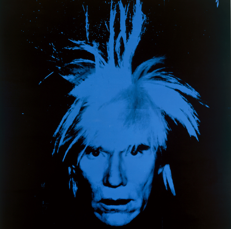 Andy Warhol, Self-Portrait, 1986