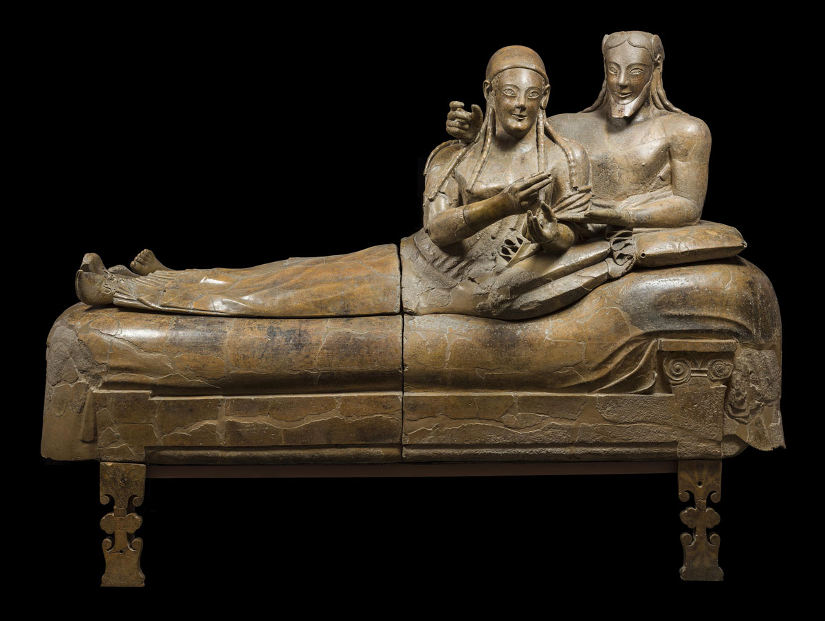 Sarcofago degli Sposi al Museo Etrusco di Villa Giulia