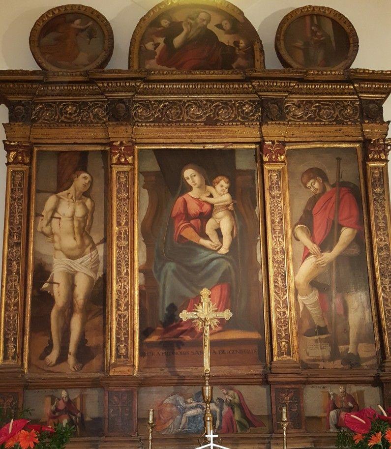 Polittico di San Rocco, Formia