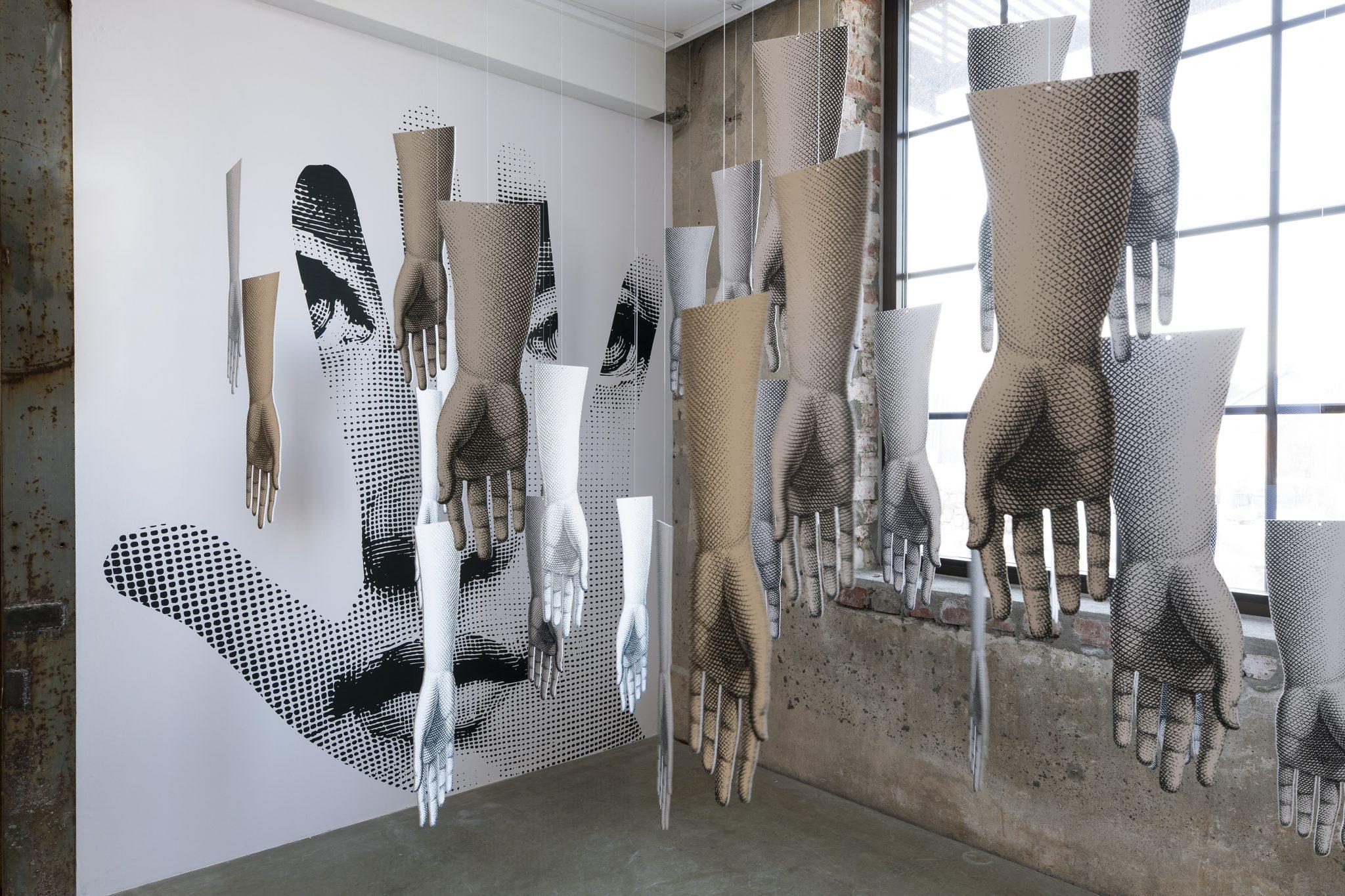 Handmade, Barnaba Fornasetti e Valeria Manzi | Contemporary Chaos, Vestfossen Kunstlaboratorium, photo Nina Ansten