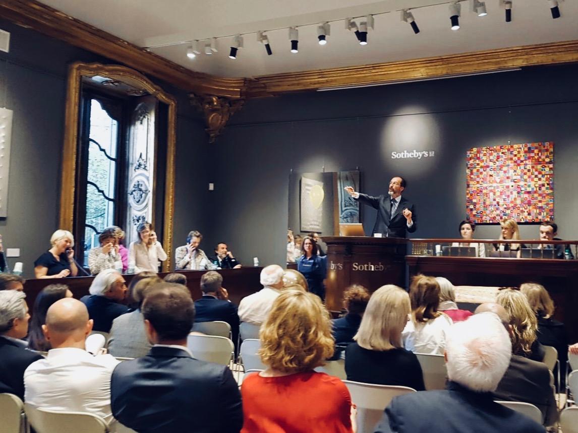 Sotheby's - Arte Moderna e Contemporanea, Milano, 18-19 aprile 2018. Foto: ArtsLife