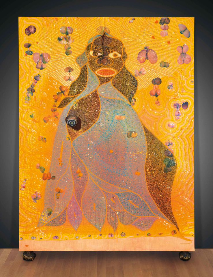 Chris Ofili, The Holy Virgin Mary