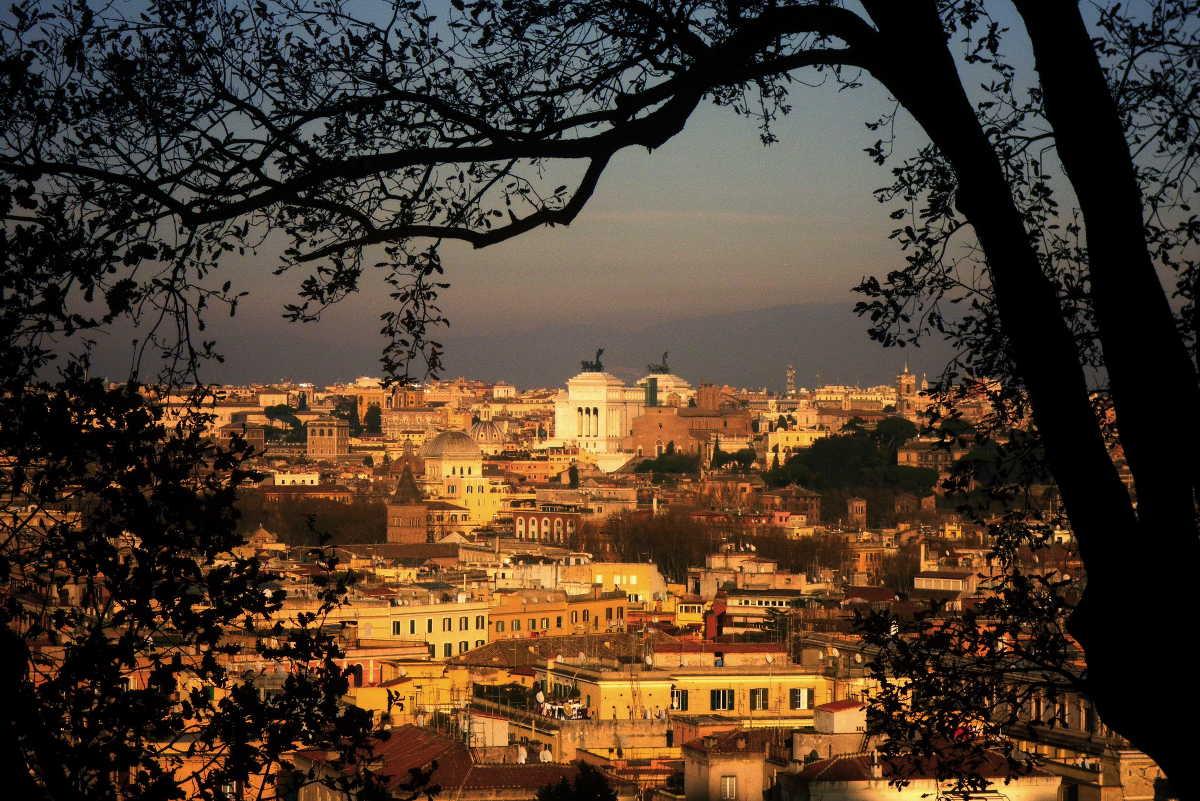 Roma e il Gianicolo: Chiesa e Chiostro di Sant'Onofrio