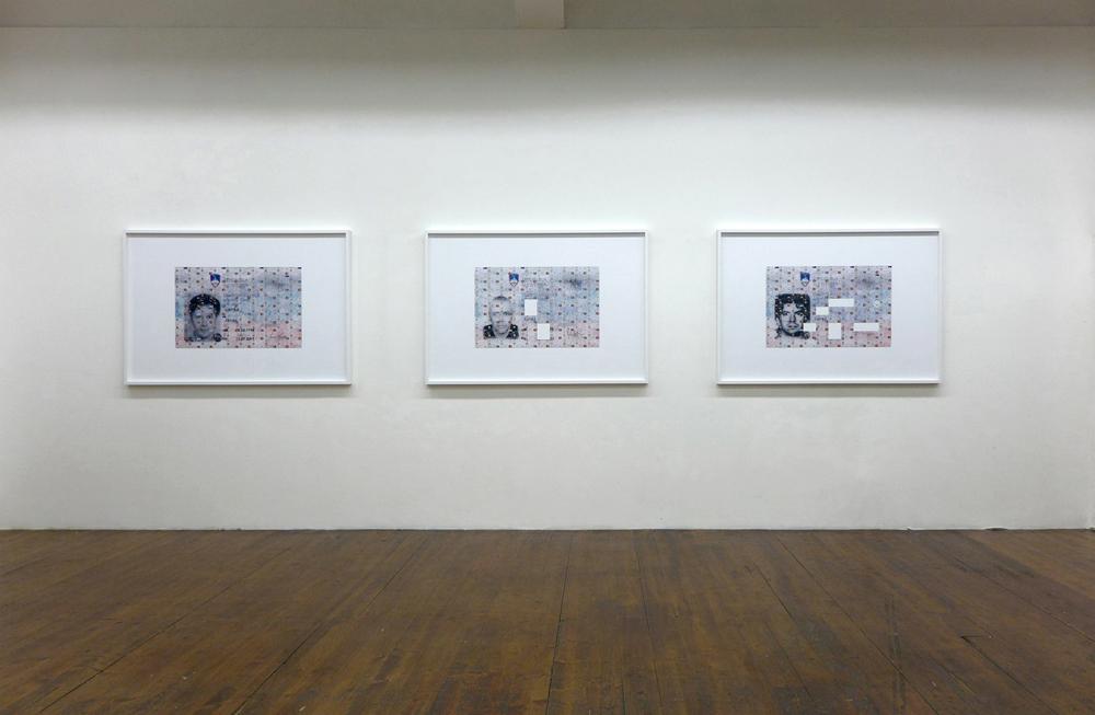 """Un, uno, una"" Janez Janša, Janez Janša, Janez Janša exhibition view MLZ Art Dep"