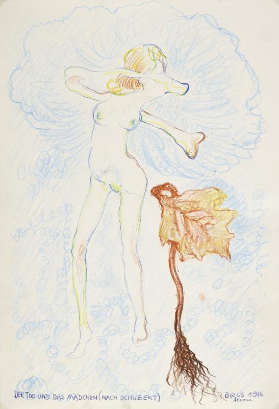 Schiele, Brus, Palme