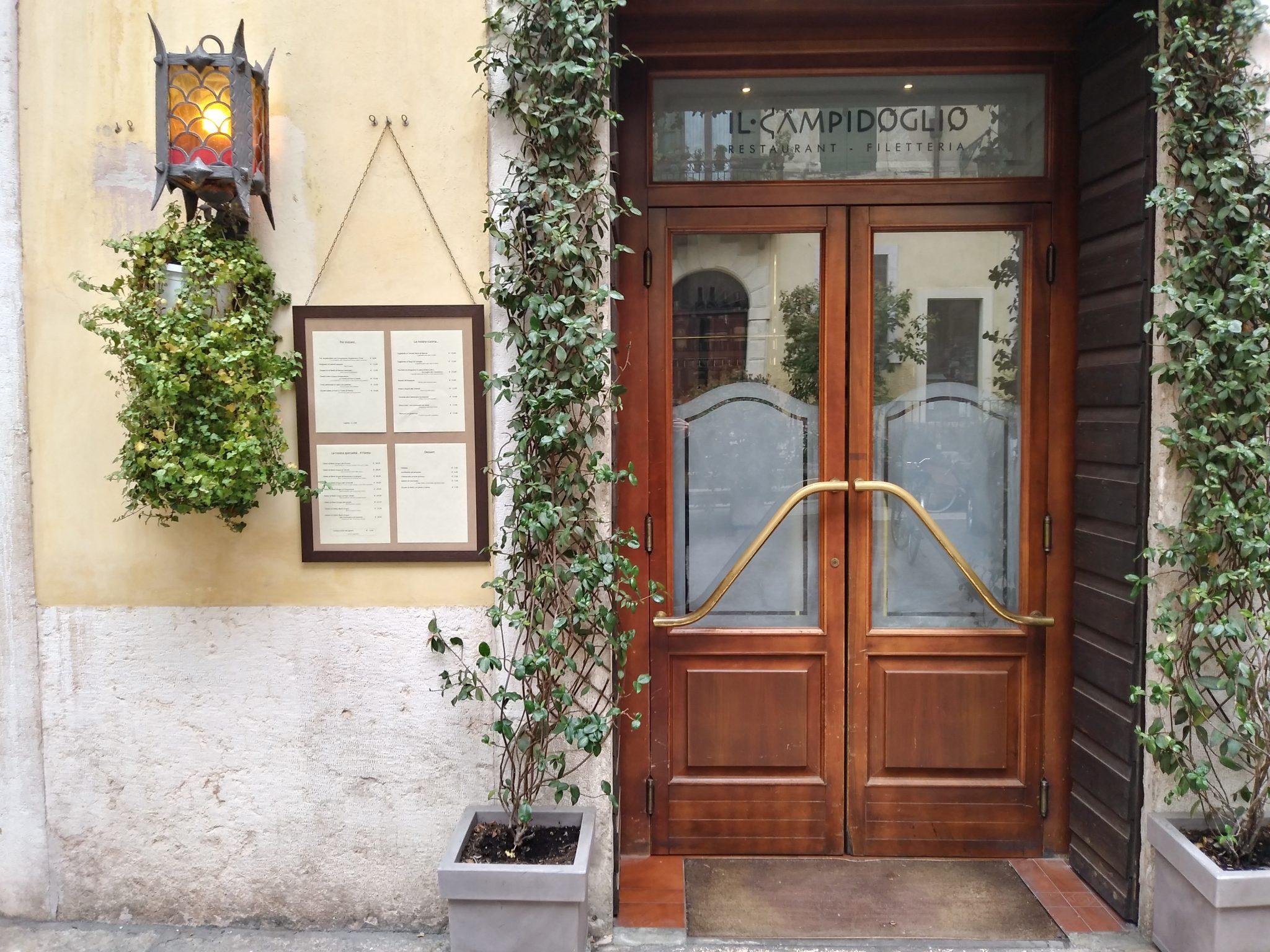 Il Campidoglio, una spolverata di tradizione nascosta nel centro di Verona
