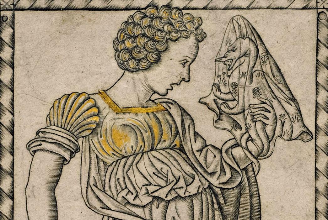 C. LOICA. XXII.22. -Dettaglio- Pinacoteca Ambrosiana, I Tarocchi del Mantegna