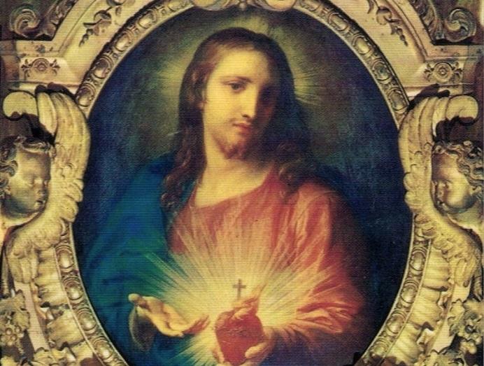 Sacro Cuore di Gesù'. 1760 Pompeo Batoni