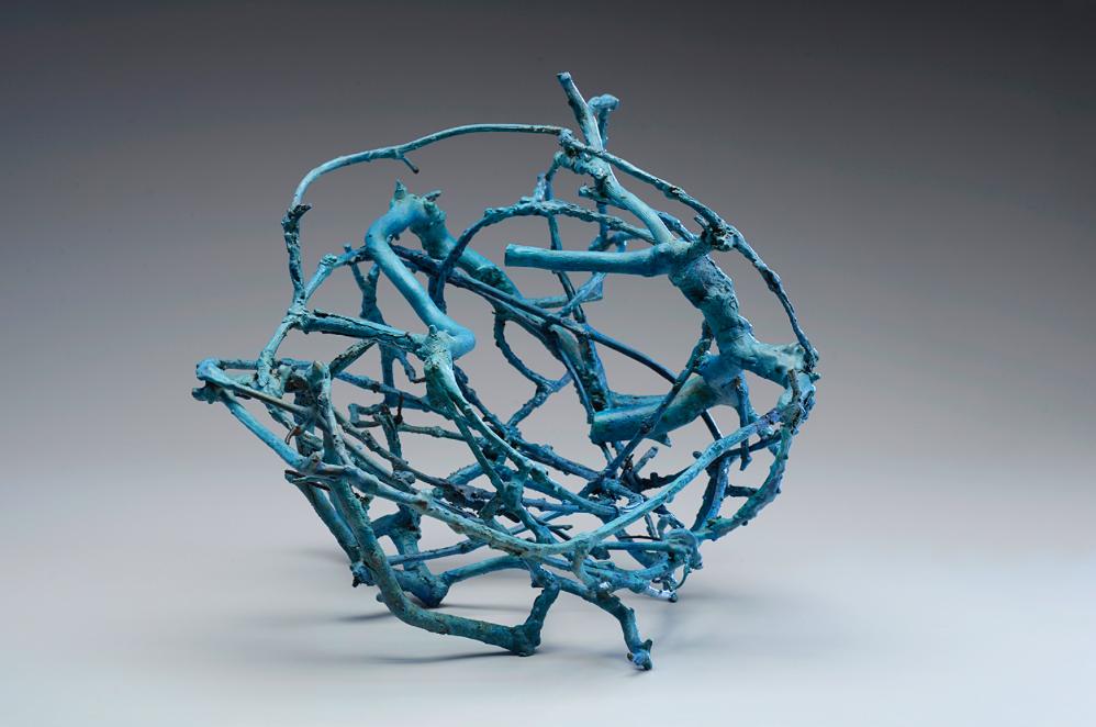 Forming, bronzo fuso, 36x38x48 cm, 2015