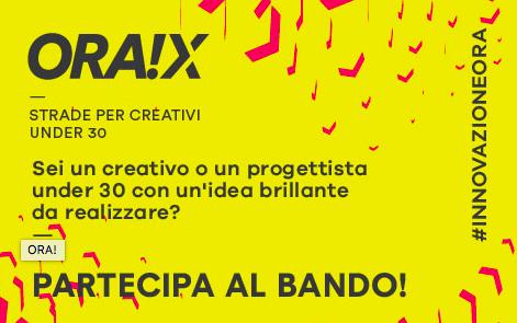 ORA!X, bando per artisti, Compagnia di San Paolo