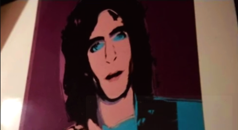 Todd Brassner ritratto da Andy Warhol