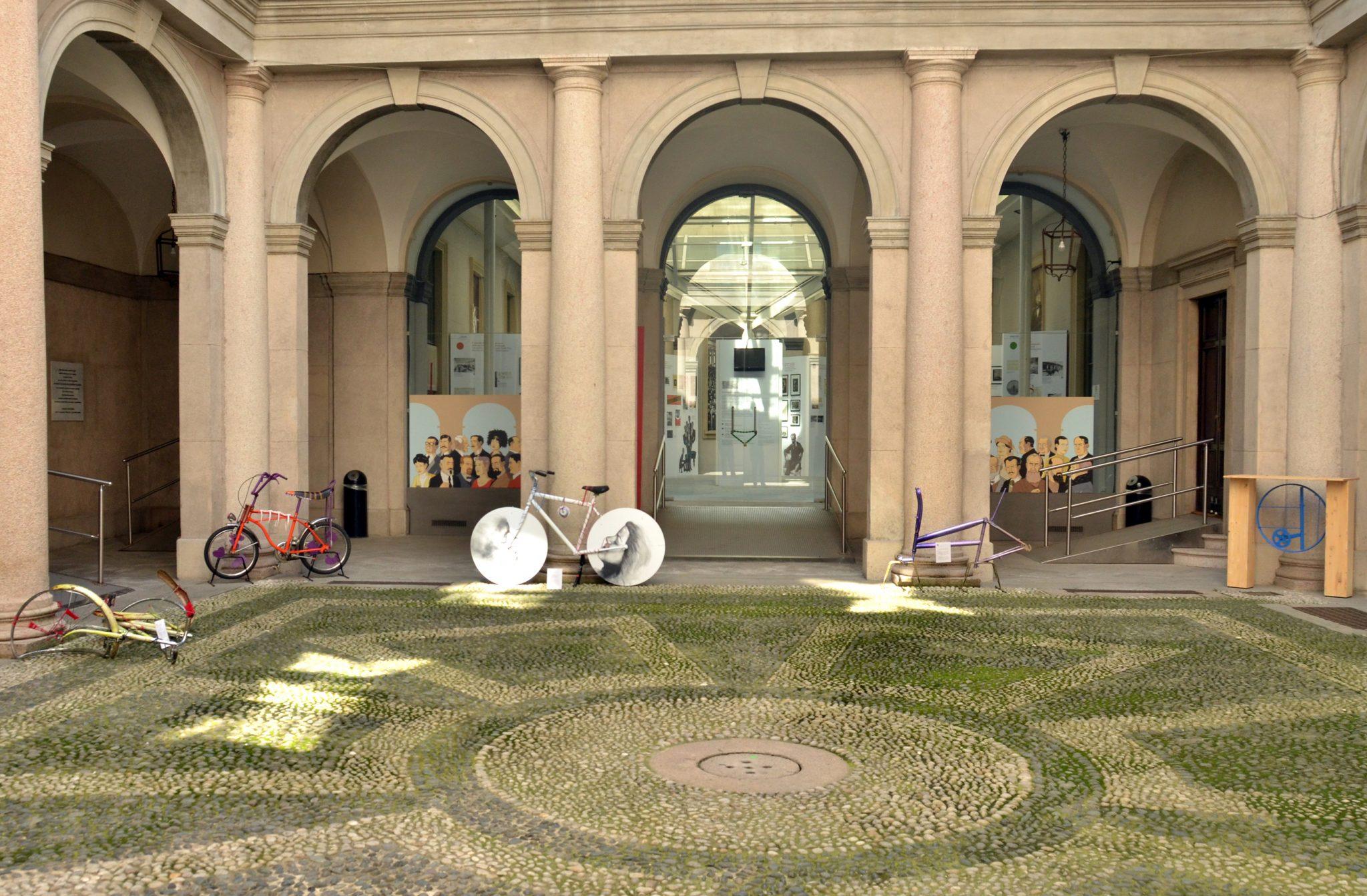 ArtColorBike, Palazzo Moriggia, Museo del Risorgimento, via Borgonuovo, 23 Milano