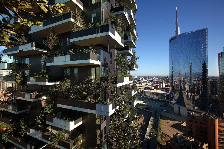 Bosco Vericale e Torre Unicredit, Milano