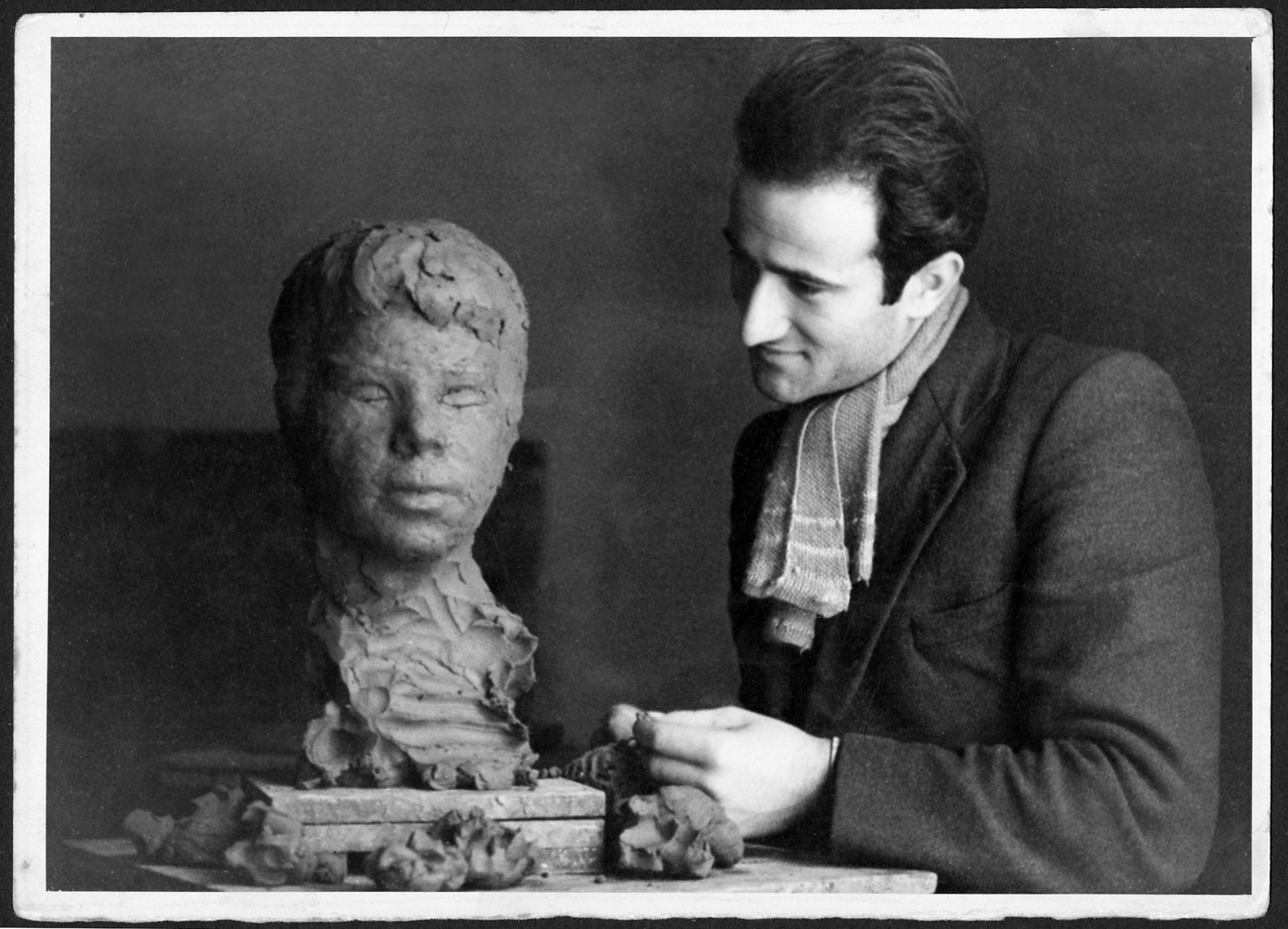 Pietro Consagra Studente a Palermo, 1940