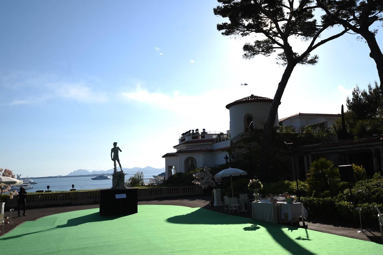 David a Cannes
