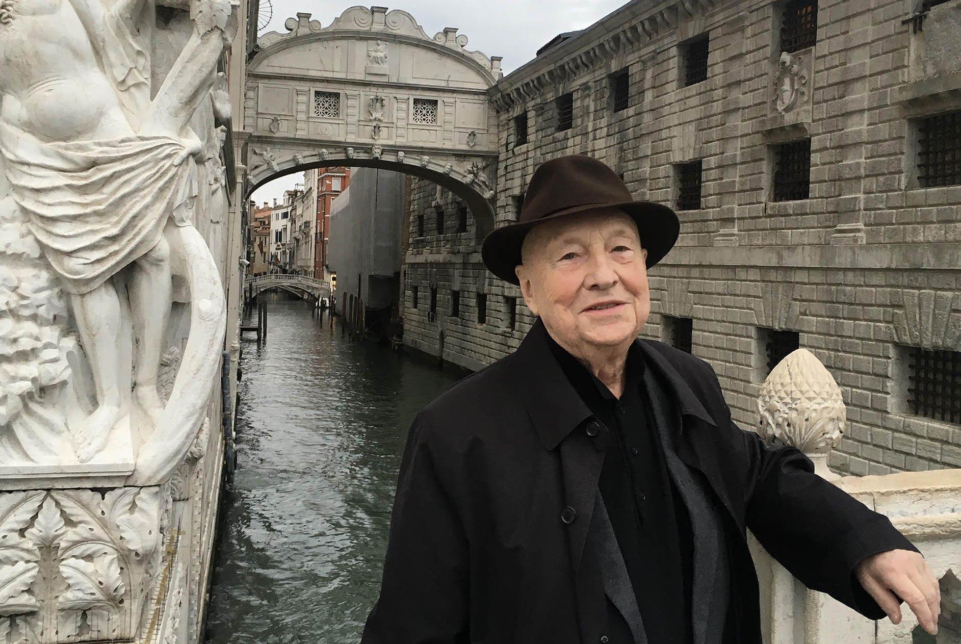 Georg Baselitz a Venezia © Georg Baselitz 2018