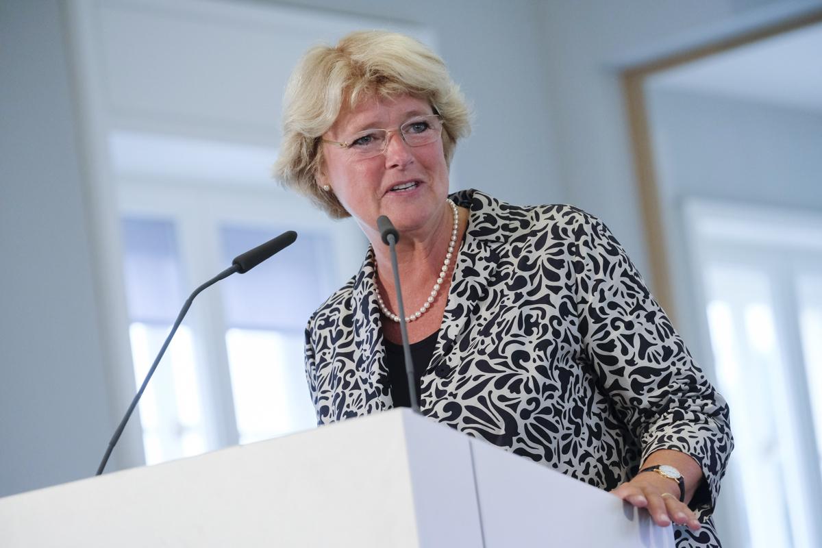 Il Ministro della Cultura tedesco Monika Grütters