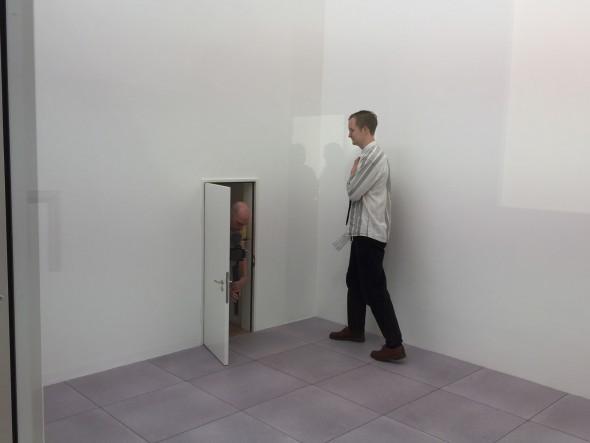 Il padiglione svizzero alla Biennale Architettura