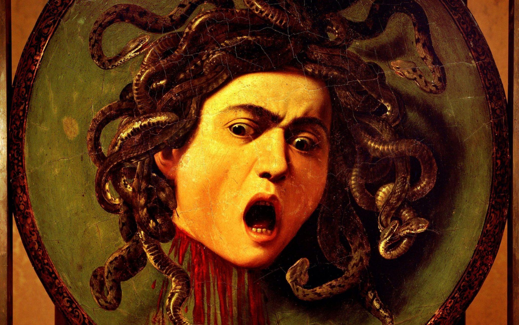 La Medusa del Caravaggio, agli Uffizi