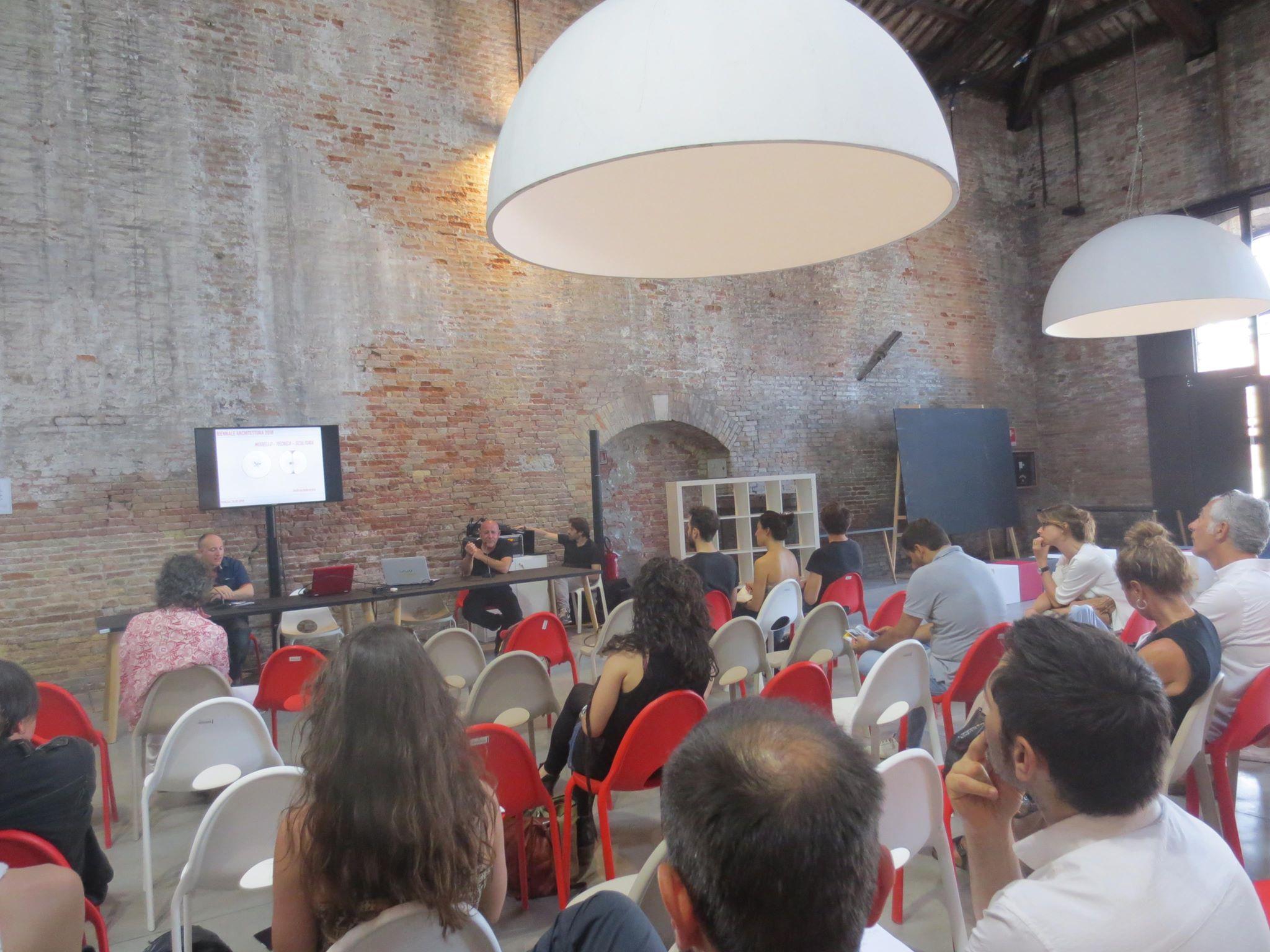 La presentazione a Biennale Sessions