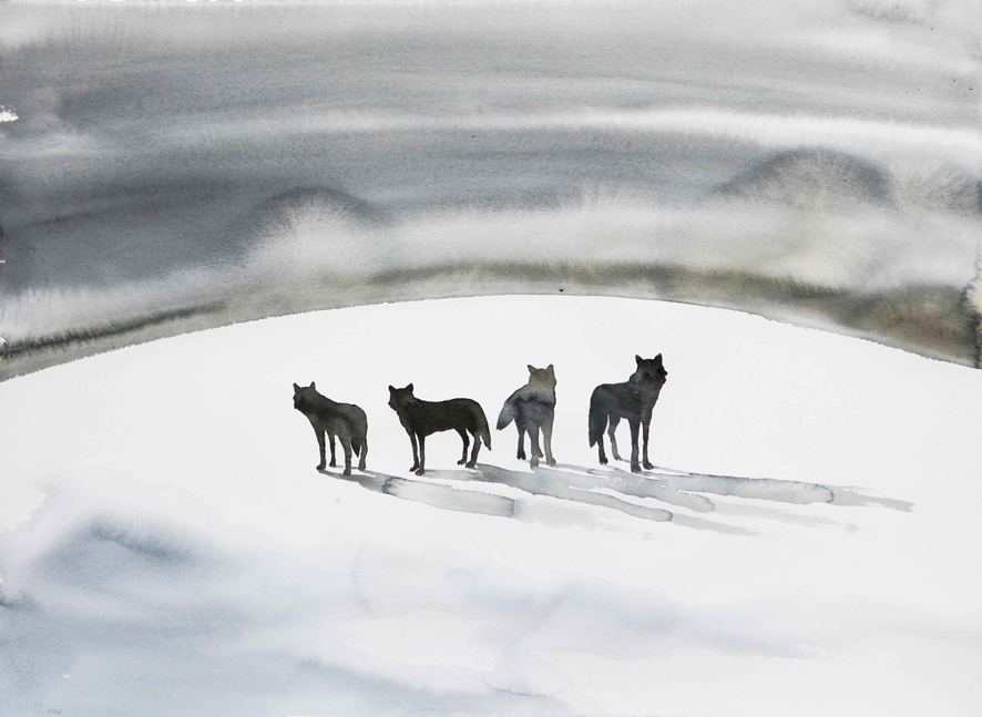 """Le algide """"tracce del racconto"""" di Nicola Magrin al Centro Saint-Bénin di Aosta"""