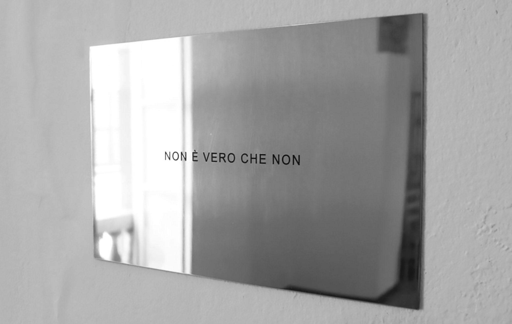 Non è vero che non, di Mauro Folci, a Fourteen Artellaro
