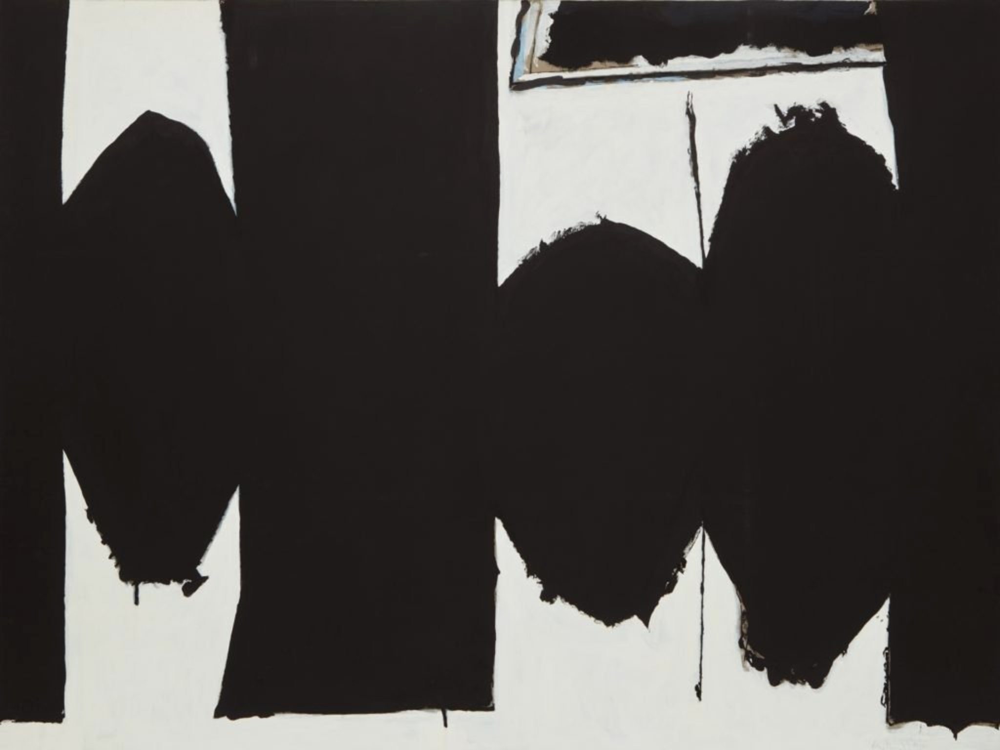Robert Motherwell, At Five in the Afternoon (1971), foto courtesy Phillips