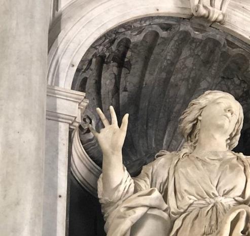 Santa Bibiana mutilata Fonte foto La Repubblica