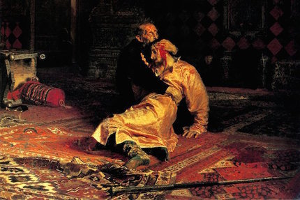 Ilya Repin, Ivan the Terrible and His Son Ivan on November 16, 1581, 1885.