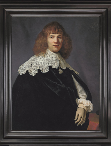 Portrait of a Young Gentleman, which Dutch dealer Jan Six claims is by Rembrandt. Photo: René van Gerritsen / Jan Six Fine Arts.