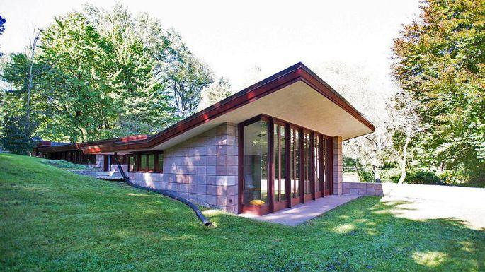Frank Lloyd Wright: nuova vita per una sua casa usoniana