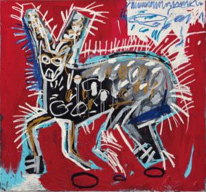 Jean-Michel Basquiat, Red Rabbit
