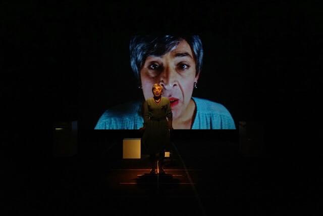 La Veglia. Un pungente lavoro di Rosario Palazzolo al Festival 50+1 di Pontenure