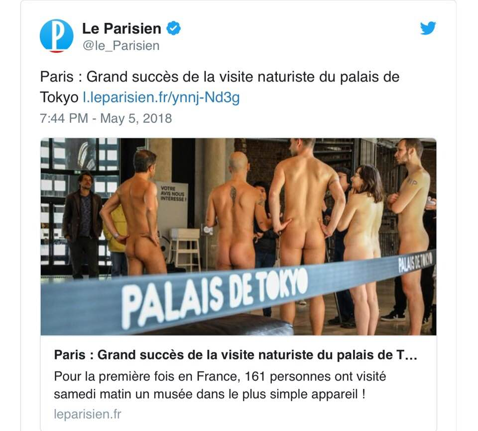 Post su Twitter de 'Le Parisien'