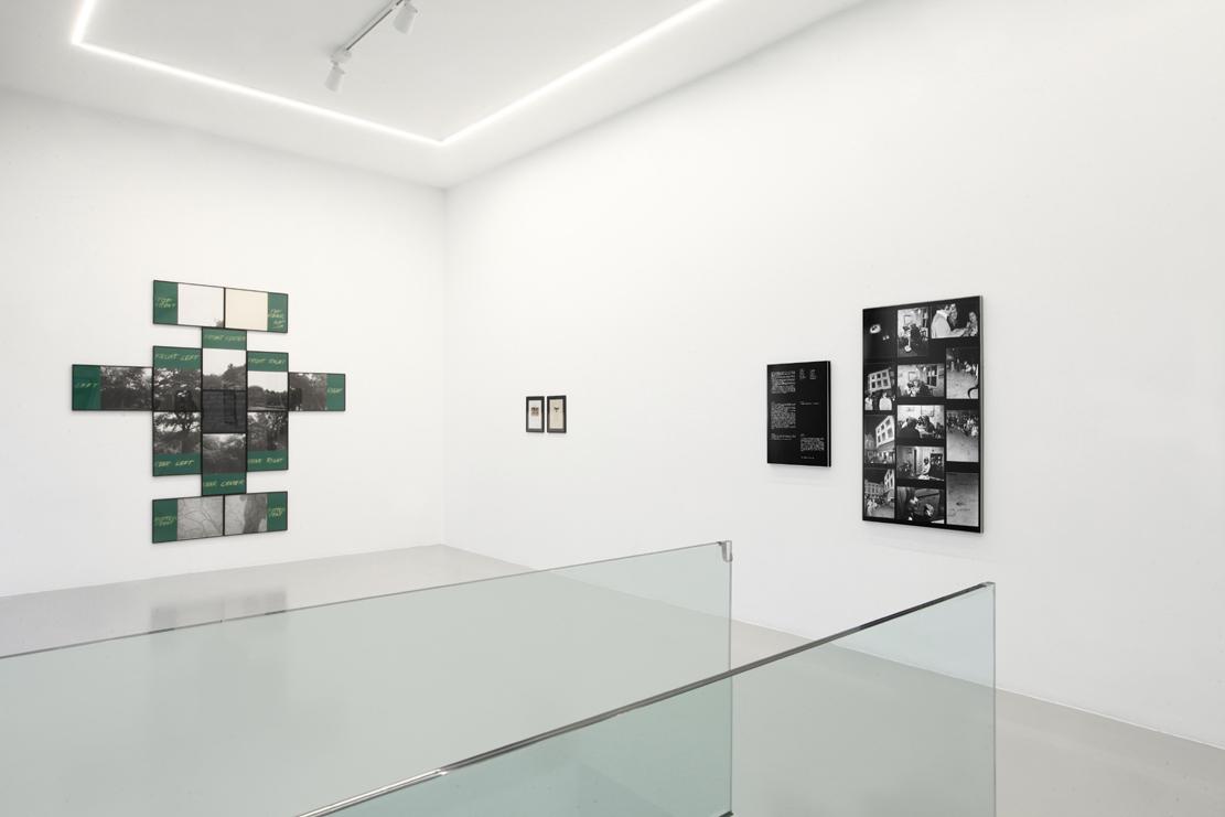 Visione d'insieme della mostra