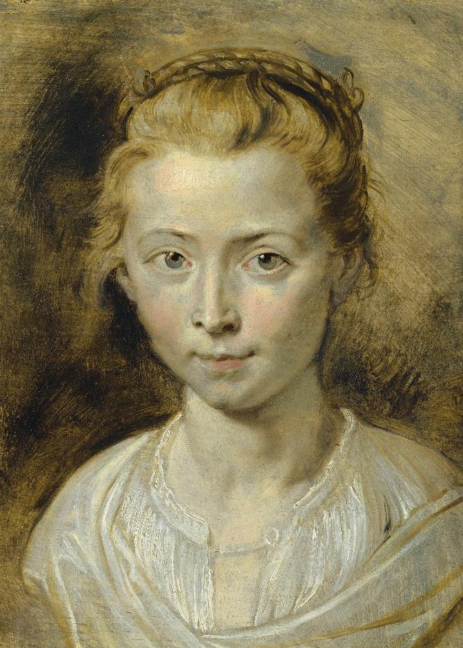 Sir Peter Paul Rubens (Siegen 1577-1640 Antwerp), Portrait of Clara Serena Rubens, the artist's daughter. Oil on panel. 14¼ x 10⅜ in (36.2 x 26.4 cm). Estimate: £3,000,000-5,000,000. This work is offered in the Old Masters Evening Sale on 5 July at Christie's in London